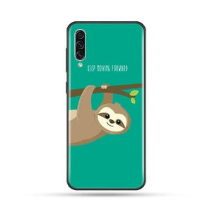 Move Forward Sloth Samsung Galaxy Case
