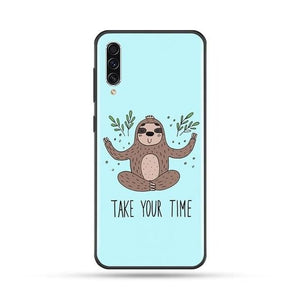 Take Your Time Sloth Samsung Galaxy Case