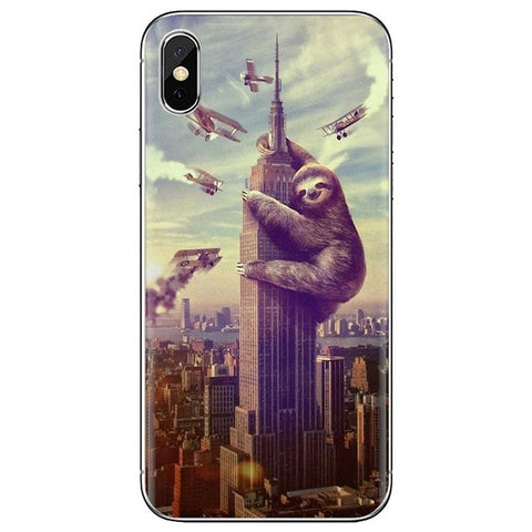 Building Climber Sloth Samsung Galaxy Case