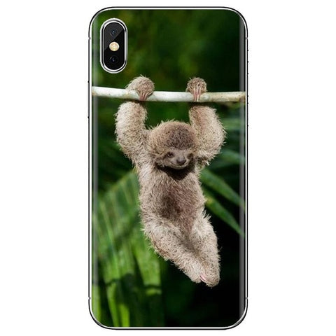 Hands Hanging Sloth Samsung Galaxy Case