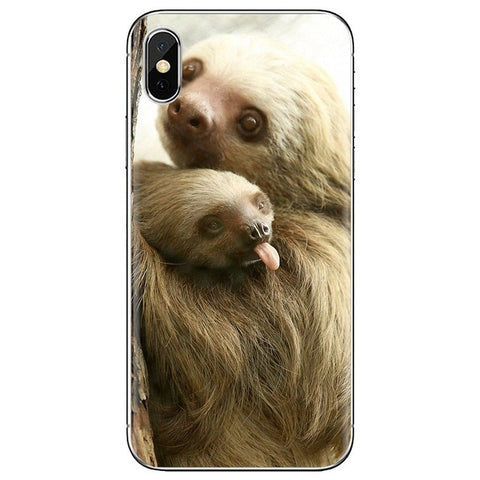 Tongue Out Sloth Samsung Galaxy Case