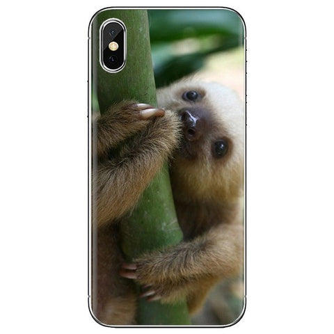 Baby Big Eye Sloth Samsung Galaxy Case