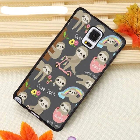 Colorful Sloth Samsung Galaxy Case