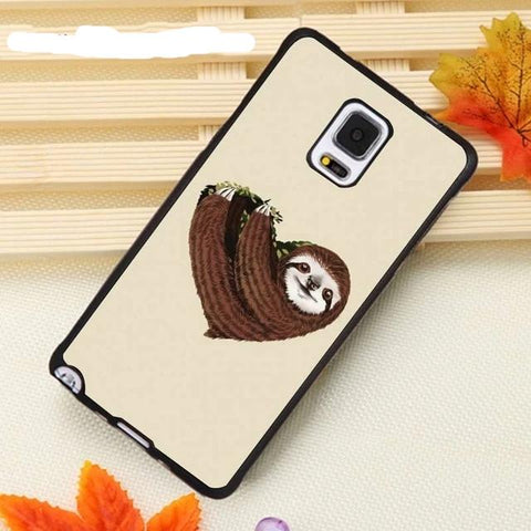 Brownish Sloth Samsung Galaxy Case