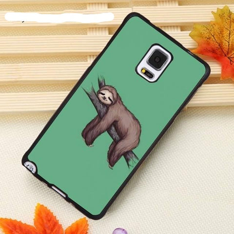 Napping Sloth Samsung Galaxy Case