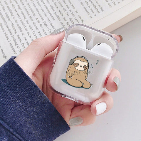 Musician Sloth Airpods Case