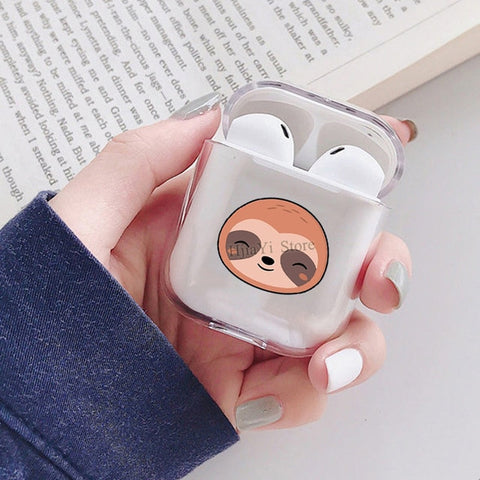 Asian Sloth Airpods Case