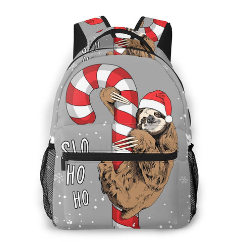 Candy Stick Sloth Travel Backpack