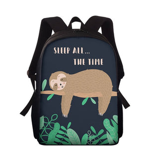 Hat Sloth Travel Backpack