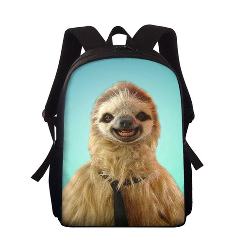 Smiling Sloth Travel Backpack