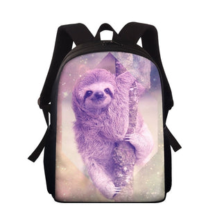 Chilling Sloth Travel Backpack