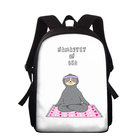 Namastey Sloth Travel Backpack