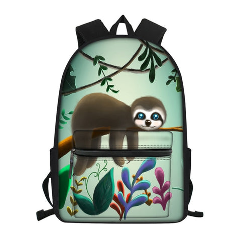 Big Eyes Sloth Travel Backpack