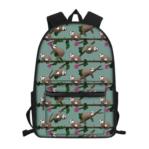 Witch Sloth Travel Backpack