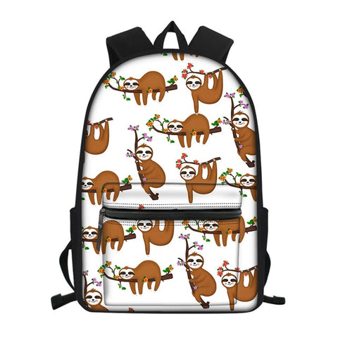 Dangling Sloth Travel Backpack