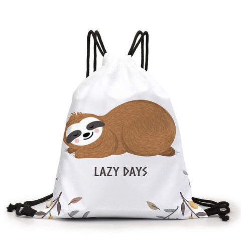 Lazy Days Drawstring Backpack