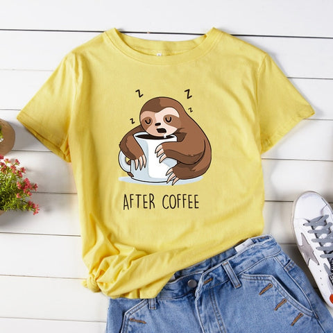 After Coffee T-shirt