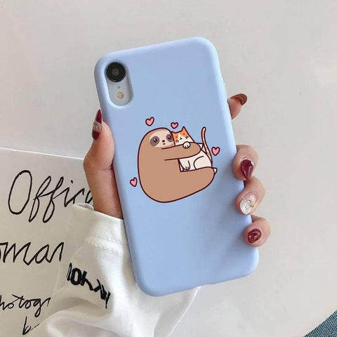 Hugger Sloth iPhone Case