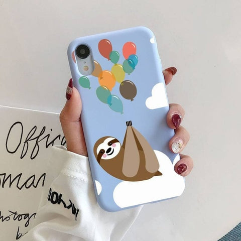 Balloon Sloth iPhone Case