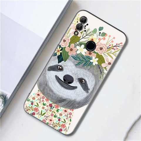 Flower Girl Sloth Huawei Case
