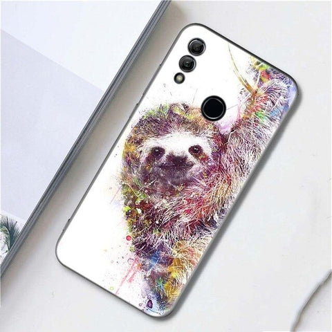 Sloth Art Huawei Case