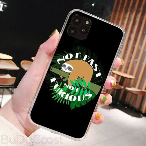 Not Fast Not Furious iPhone Case