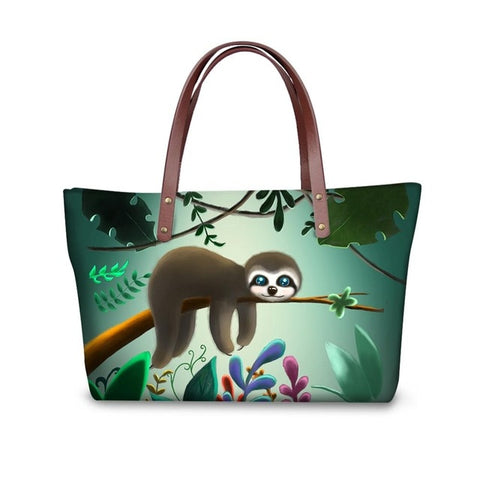 Baby Sloth Handle Bag