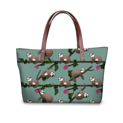 Chubby Sloth Handle Bag