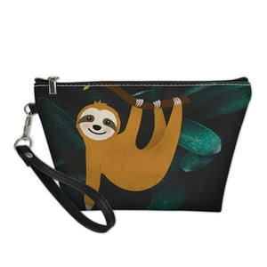 Amusing Sloth Makeup Bag