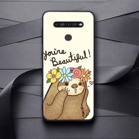 You're Beautiful Sloth LG Case
