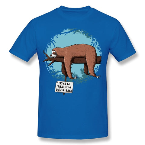 Five Sloth Minutes T-shirt - Sloth Gift shop