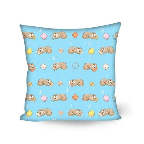 Sleeping Sloth Cushion Cover - Sloth Gift shop
