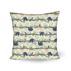 Can't Walk Sloth Cushion Cover - Sloth Gift shop