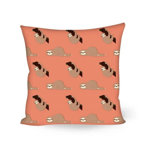 Laying Sloth Cushion Cover - Sloth Gift shop