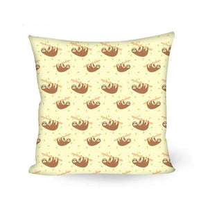 Going Up Sloth Cushion Cover - Sloth Gift shop