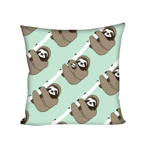 Hug Tight Cushion Cover - Sloth Gift shop
