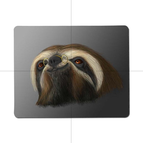Hairy Sloth Mouse Pad