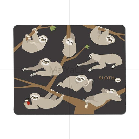 Long Claw Sloth Mouse Pad