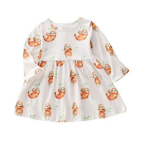 Dress Sloth Party Dress - Sloth Gift shop
