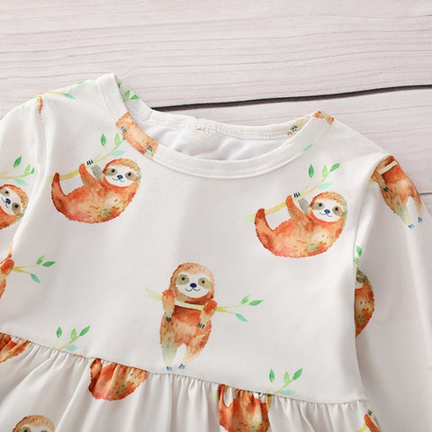 Image of Dress Sloth Party Dress