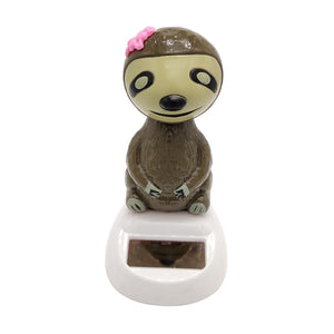 Flower Sloth Girl Toy - Sloth Gift shop