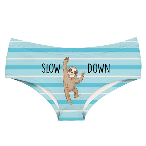 Slow Down Underwear