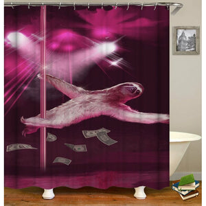 Sloth Dancer Shower Curtain - Sloth Gift shop