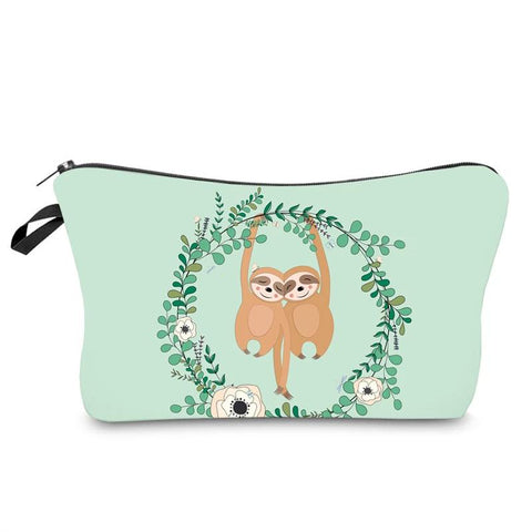 Image of Sloth Lovers Makeup Bag - Sloth Gift shop