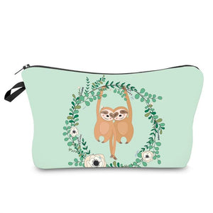 Sloth Lovers Makeup Bag - Sloth Gift shop