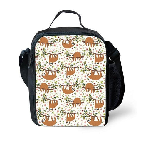 Vintage Sloth Lunch Bag