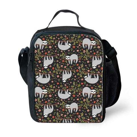 Relaxing Group of Sloth Lunch Bag