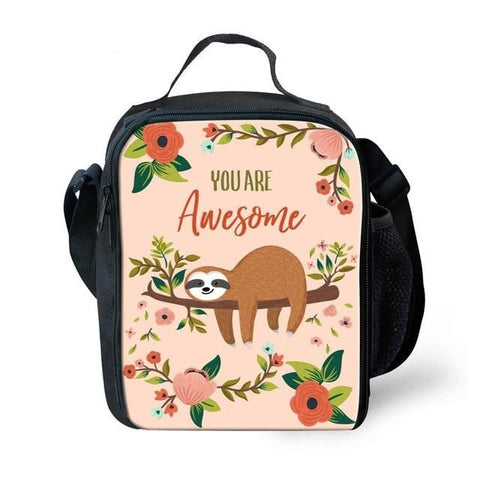 Awesome Sloth Lunch Bag