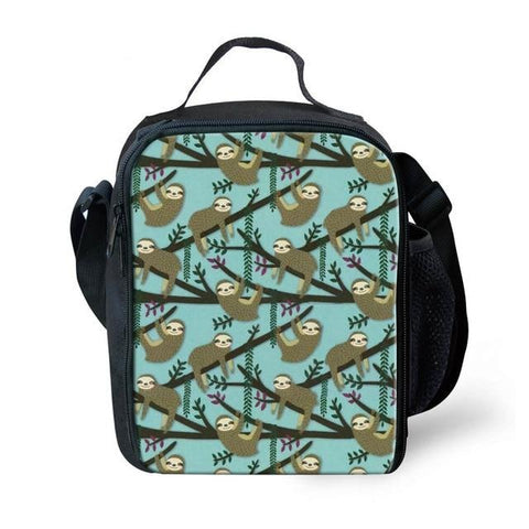 Bamboo Sloth Lunch Bag