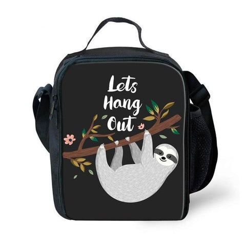 Hang Out Sloth Lunch Bag